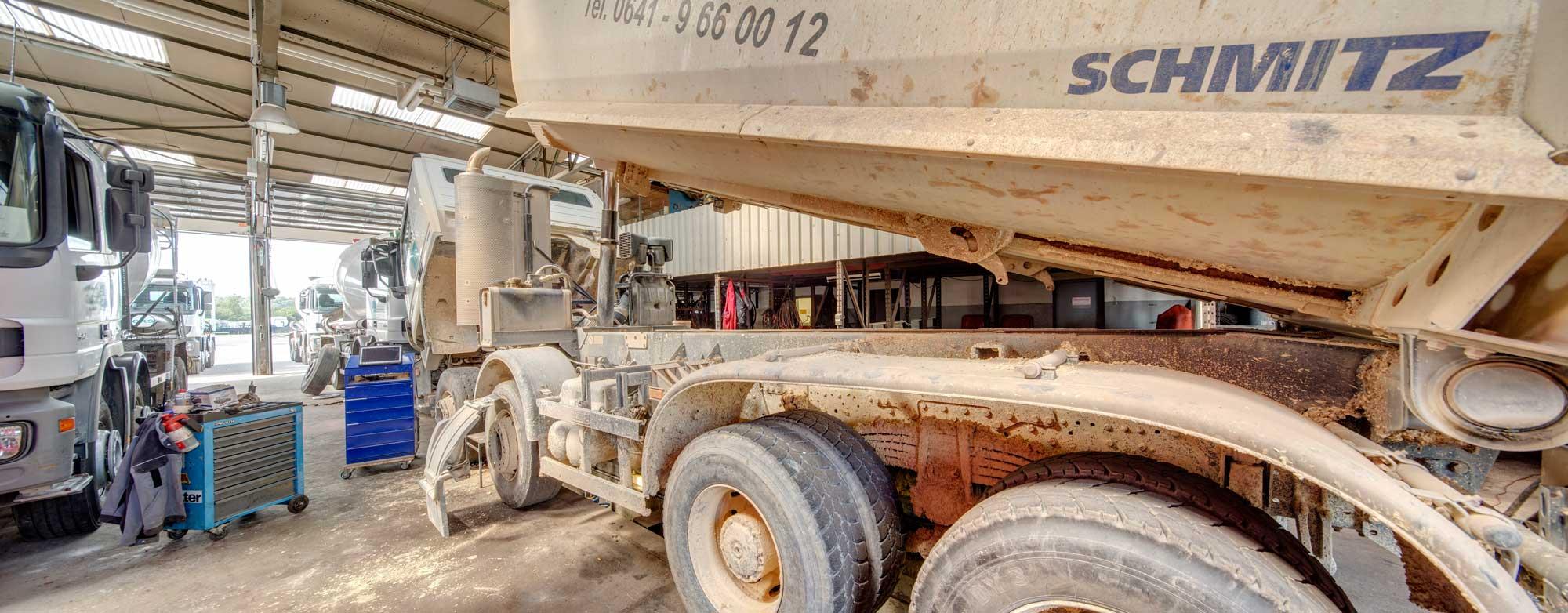 Zuverlassige Werkstatt für Ihren Truck