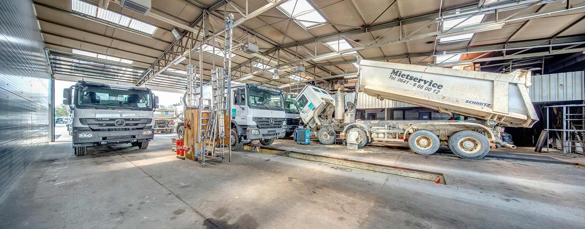 Zuverlassige LKW Werkstatt in Giessen
